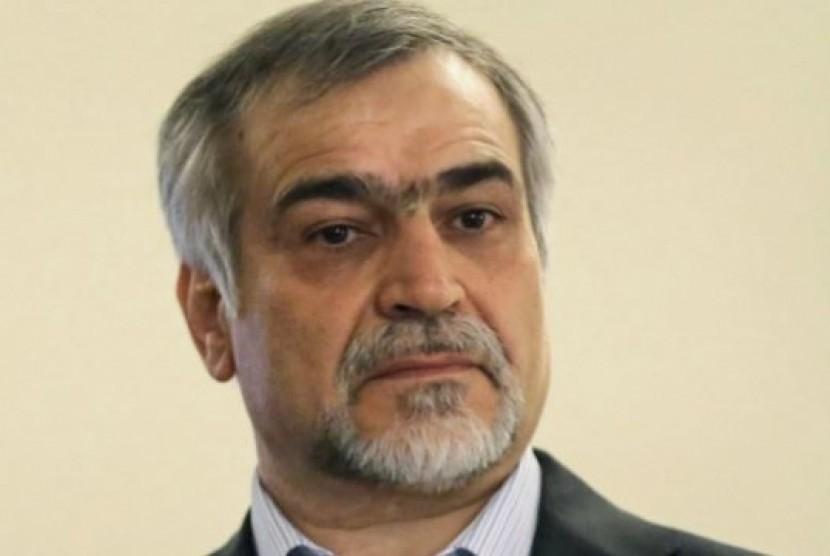 Hossein Fereydoun yang merupakan adik Presiden Iran Hassan Rouhani.