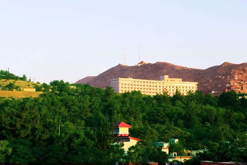 Hotel Kabul Intercontinental.