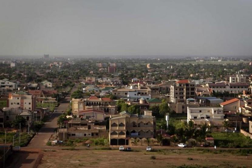 Ibu kota Burkina Faso, Ouagadougou.