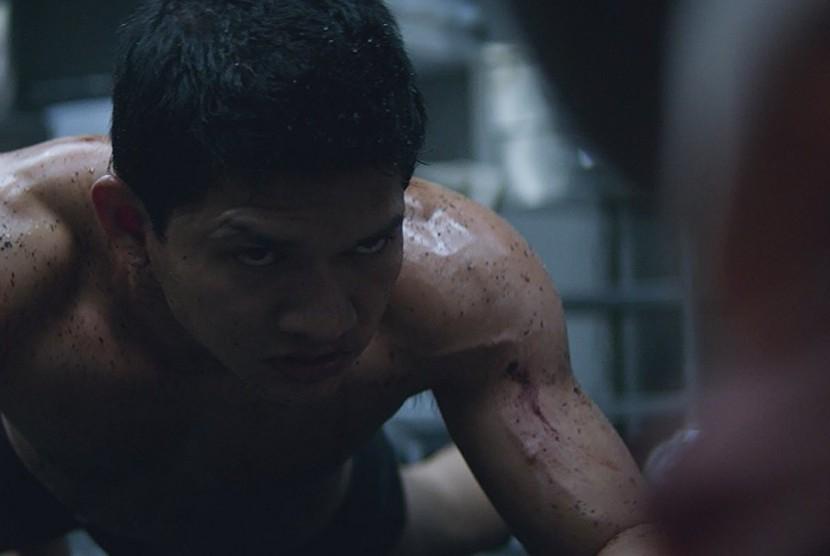 Iko Uwais di film Mile 22.