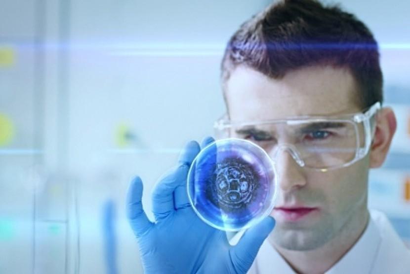 Ilmuwan. Ilustrasi