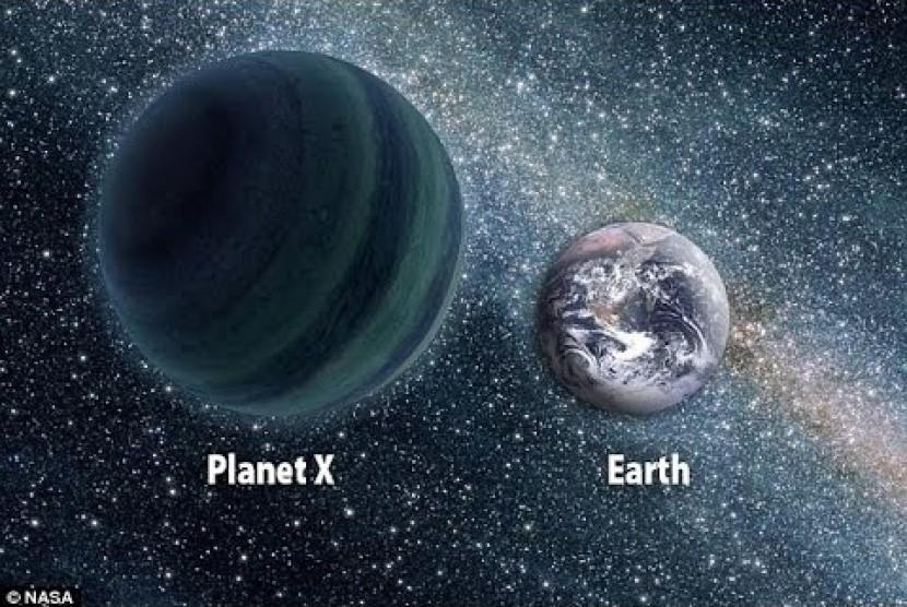 Ilmuwan mengatakan Planet X telah memasuki sistem tata surya kita.