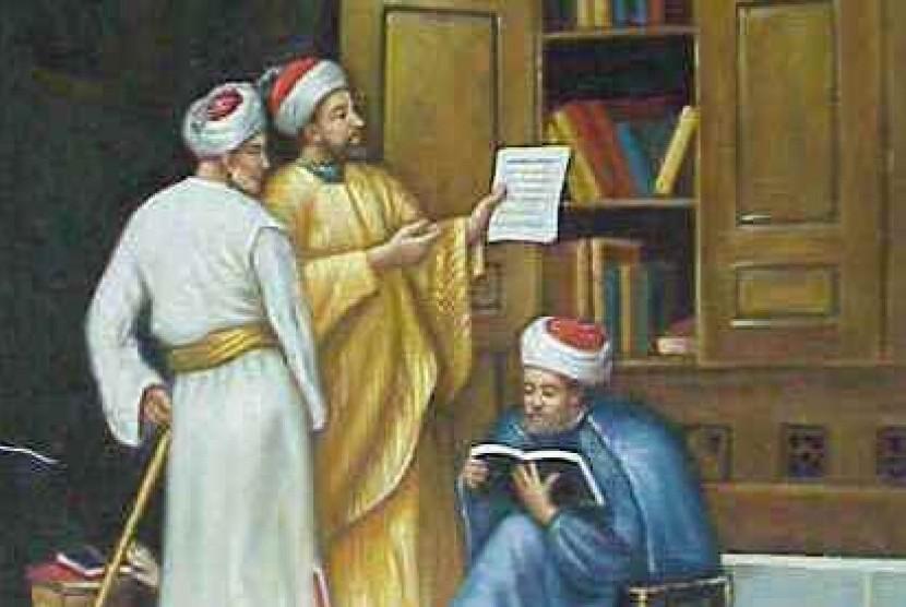 Ilmuwan Muslim.
