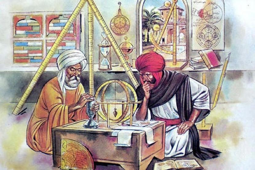 Ilmuwan Muslim (ilustrasi).