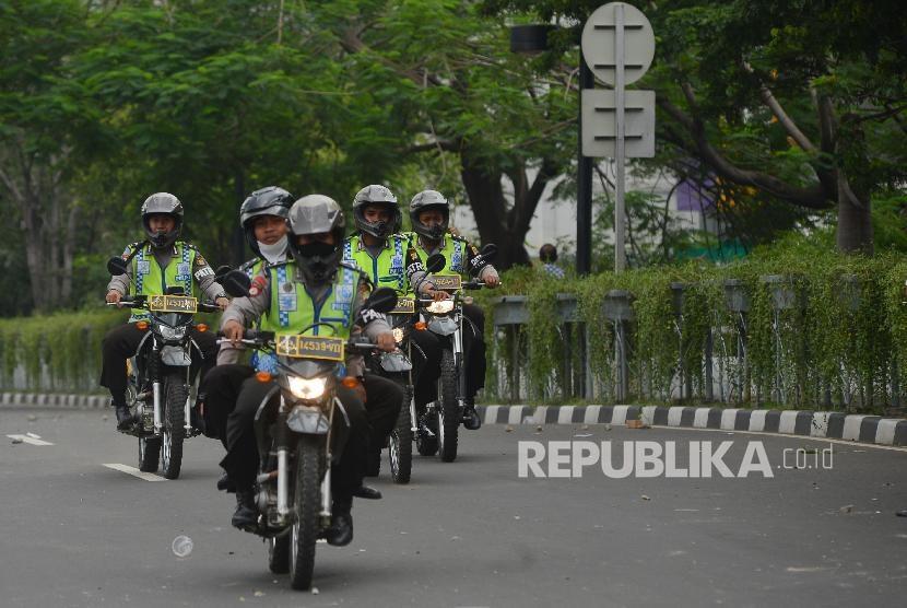 Ilustrasi aparat kepolisian