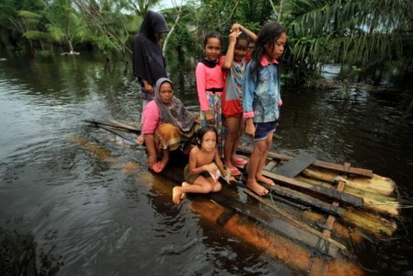 SAR Meulaboh Dikerahkan Bantu Evakuasi Korban Banjir