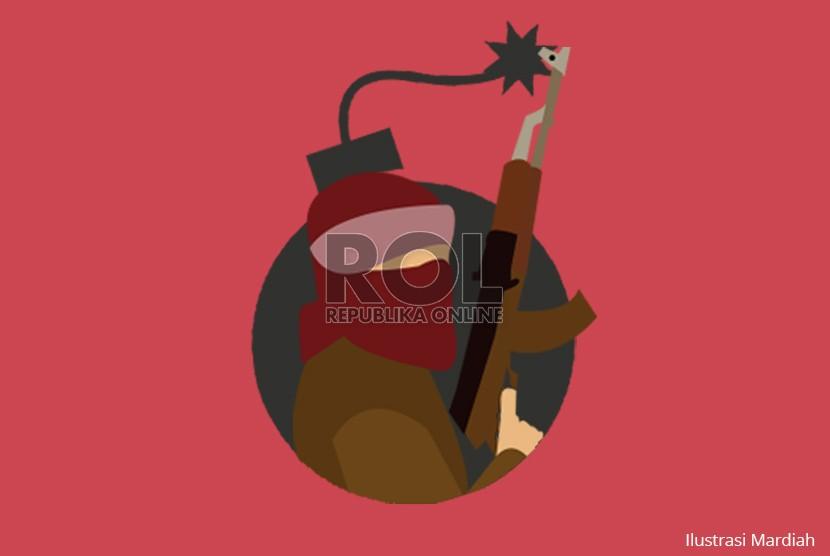 Ilustrasi Bom - Teroris