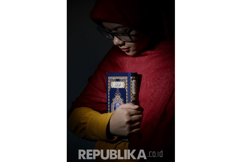 Ilustrasi Dakwah Muslimah. (Republika/ Prayogi)