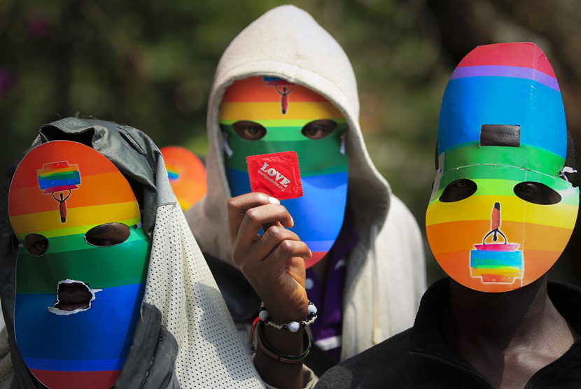Ilustrasi Komunitas LGBT (Ilustrasi)