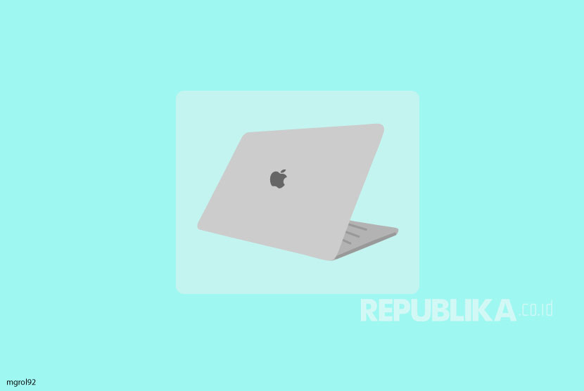 Ilustrasi MacBook