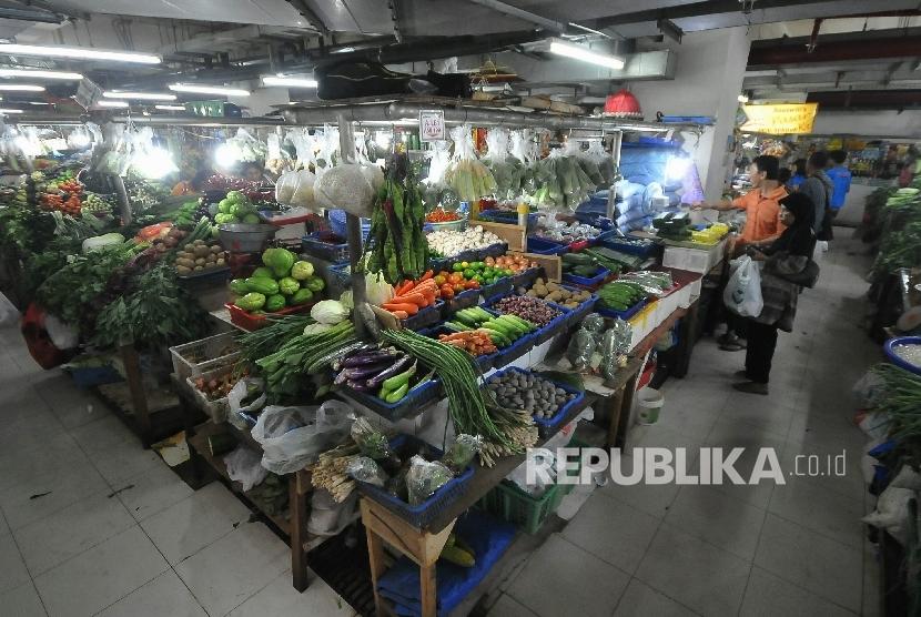 Ilustrasi Pasar Rakyat
