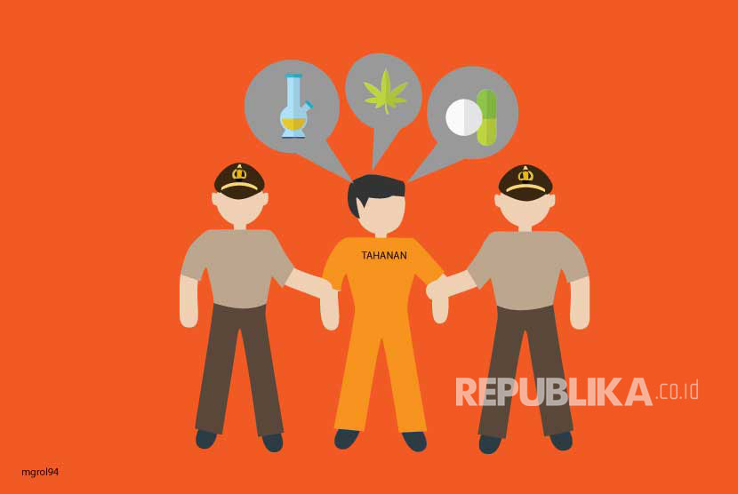 The Indonesian and Malaysian Police have busted an international drug syndicate based in Malaysia. (Illustration)