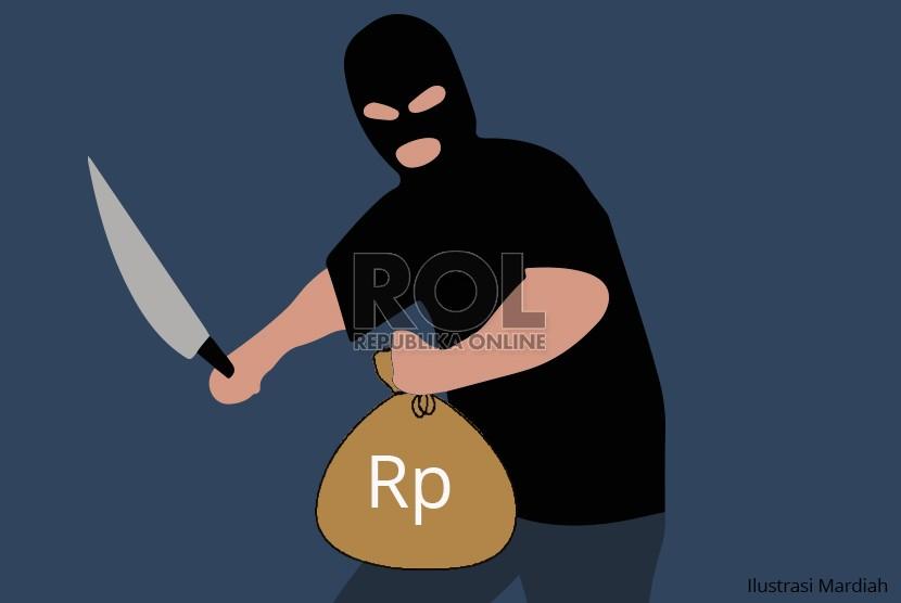 Perampok Petugas Pengisi ATM Gandaria Terancam 7 Tahun