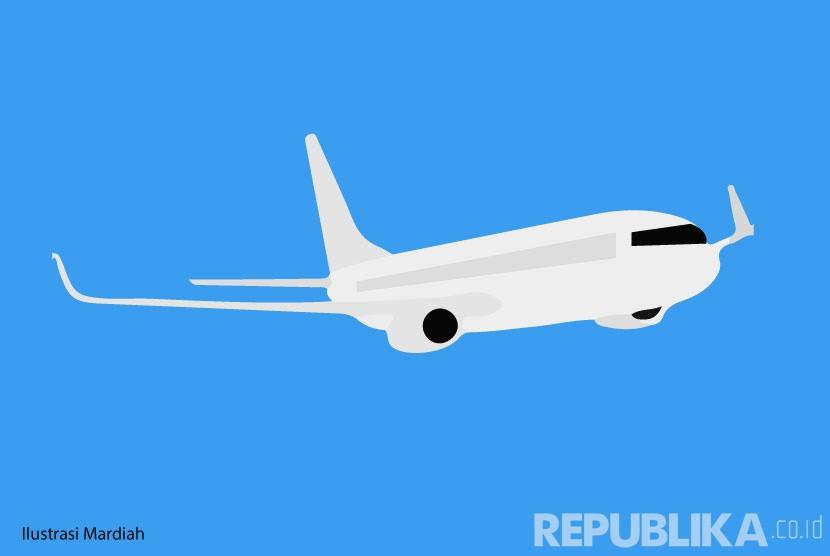 Ilustrasi Pesawat Haji