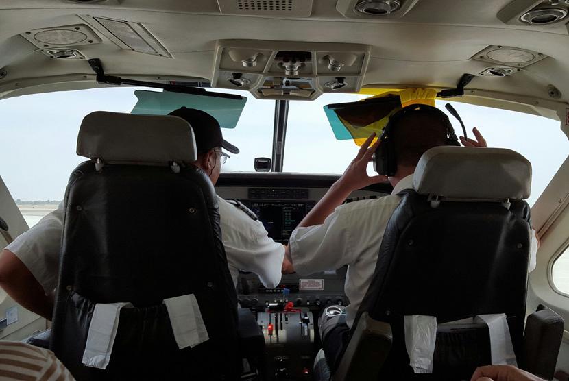 Ilustrasi Pilot Pesawat