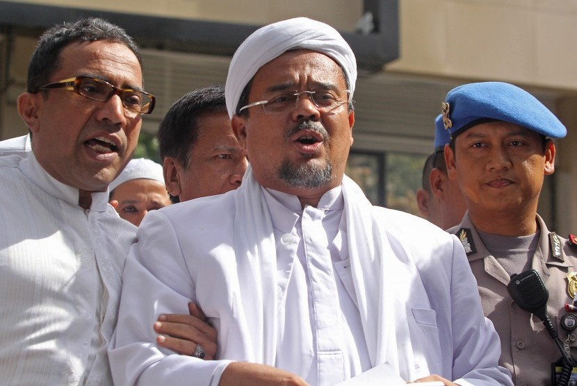 Habib Rizieq Sebagai Tersangka