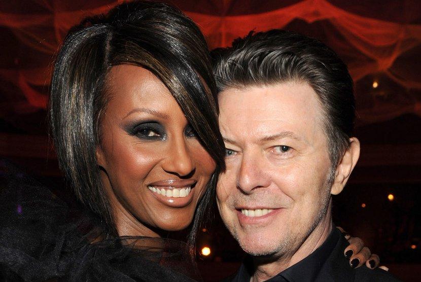 Iman Kenang Kisah Cintanya dengan David Bowie