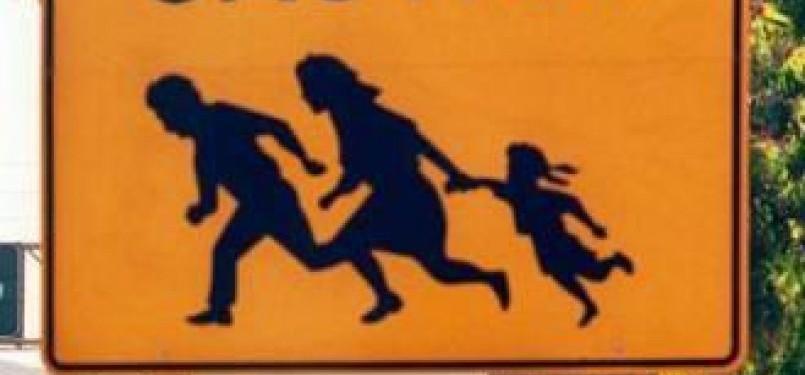 Imigran ilegal (ilustrasi)