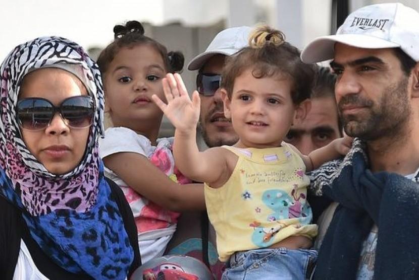 Imigran asal Suriah (ilustrasi)