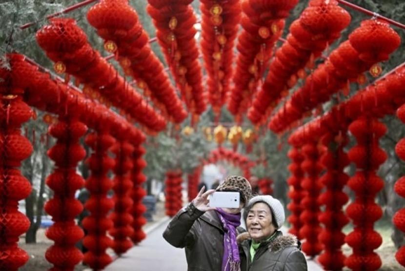 Imlek di Beijing