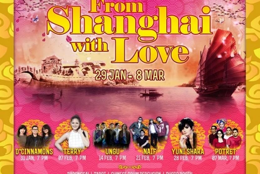 Jelang Imlek, From Shanghai With Love akan Ramaikan Summarecon Mal