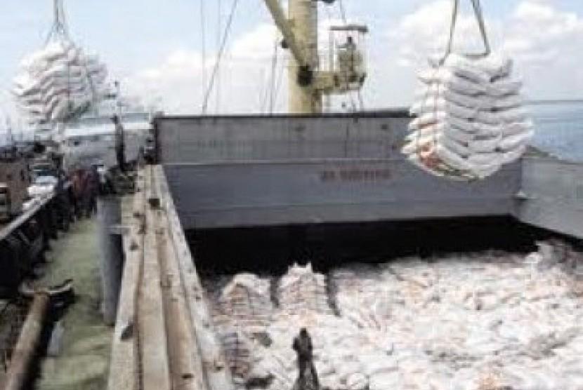 Impor beras (ilustrasi)