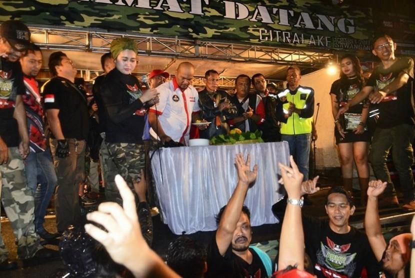 Indonesia Nmax Community merayakan hari jadi ke-1 tahun
