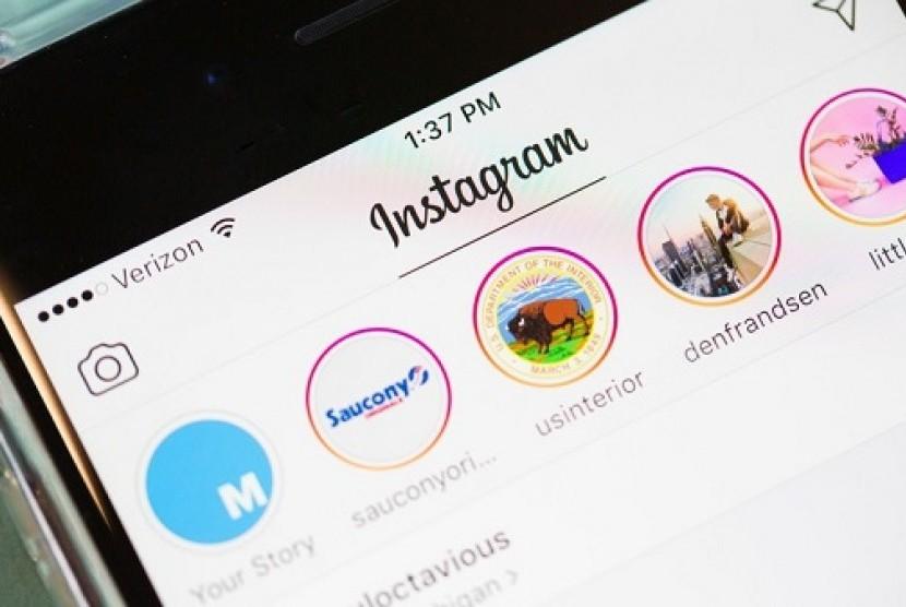 Instagram. Ilustrasi