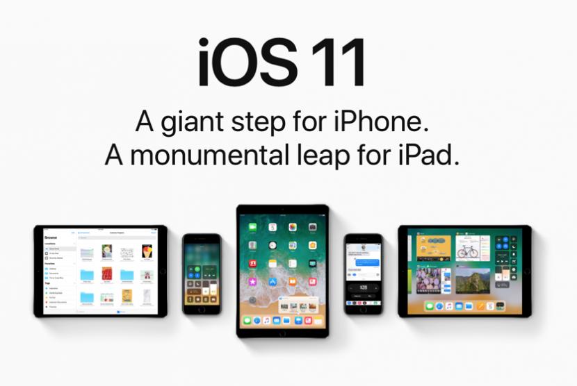 iOS 11. Ilustrasi