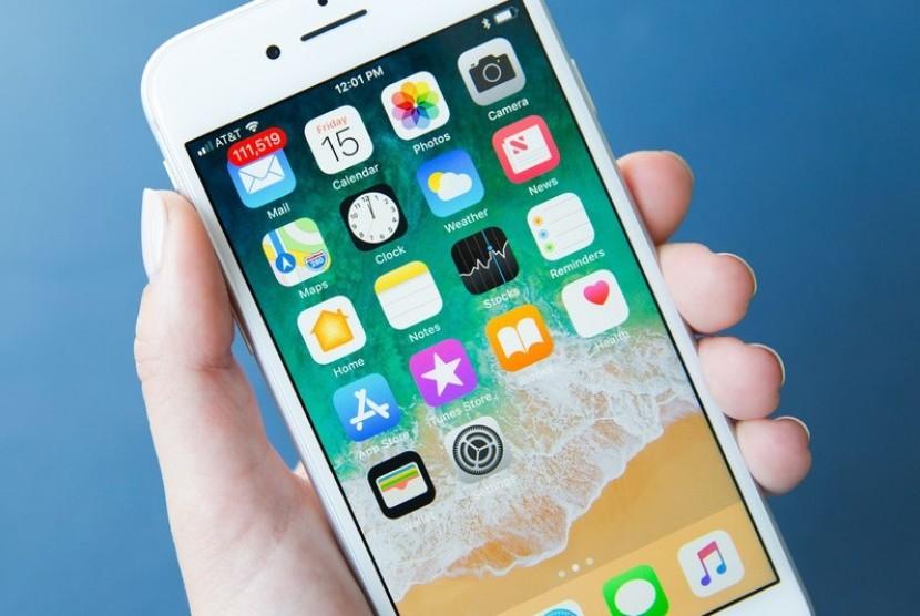 iPhone. Ilustrasi
