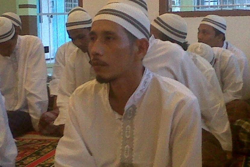 Iskandar Nasution, napi penghafal Alquran.