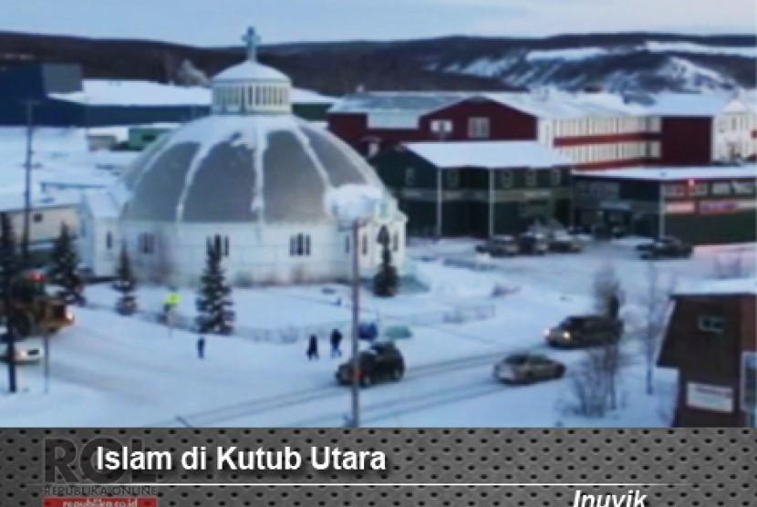 Alhamdulillah, Akhirnya Masjid di Kutub Utara Telah Selesai Dibangun