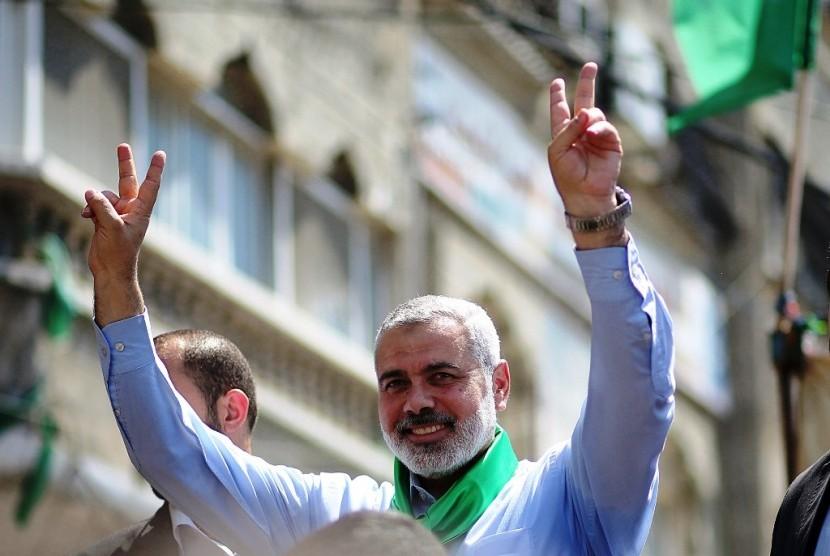 Ismail Haniya Terpilih Jadi Pemimpin Biro Politik Hamas