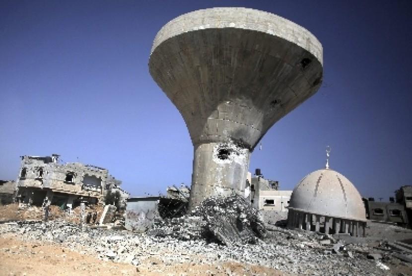 Masjid Palestina dan Situs Islam Jadi Target Penghancuran Geng Zionis