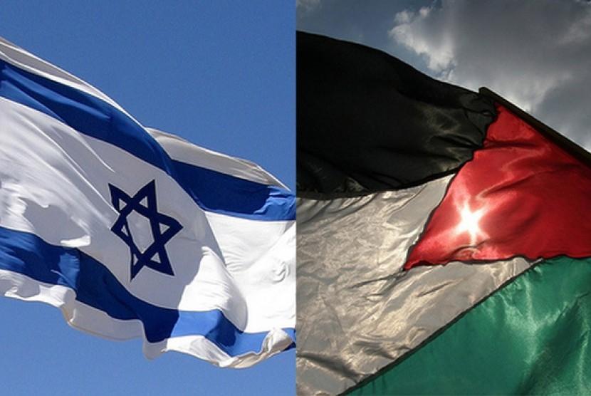 Israel-Palestina/ilustrasi