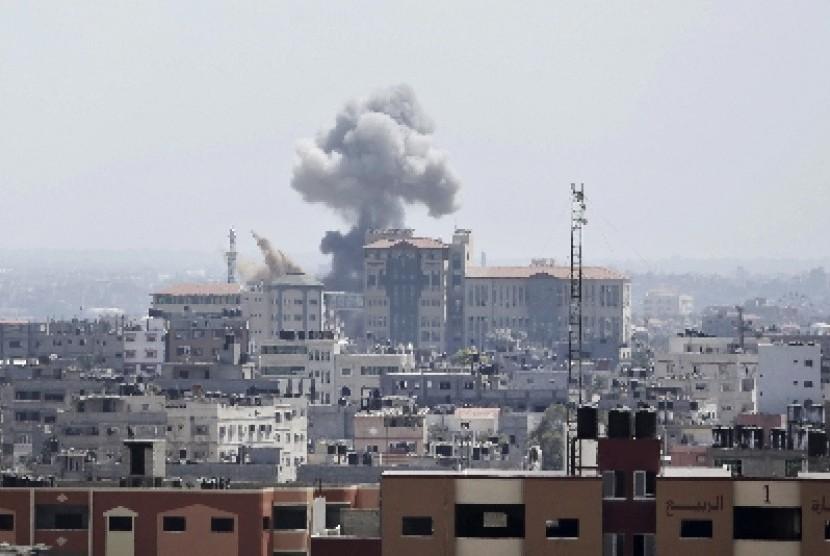 Israel serang rumah sakit di Gaza, Palestina.