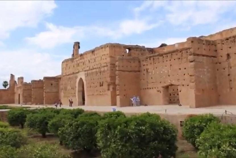 Istana El-Badi, Maroko