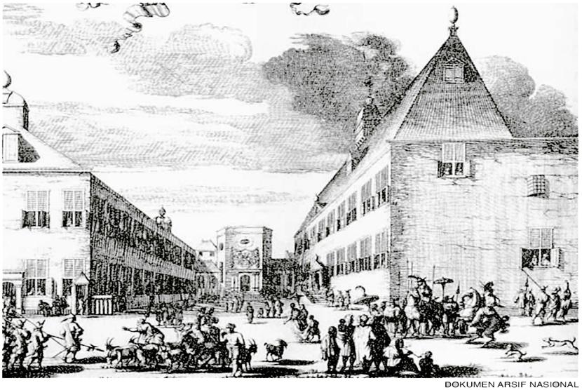 Istana Jenderal JP Coen di Pasar Ikan.