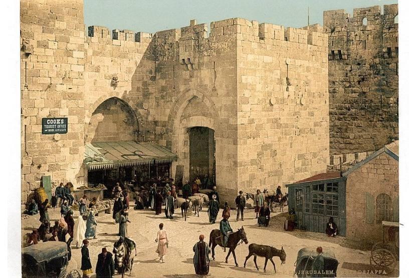 Jaffa, pintu gerbang Yerusalem