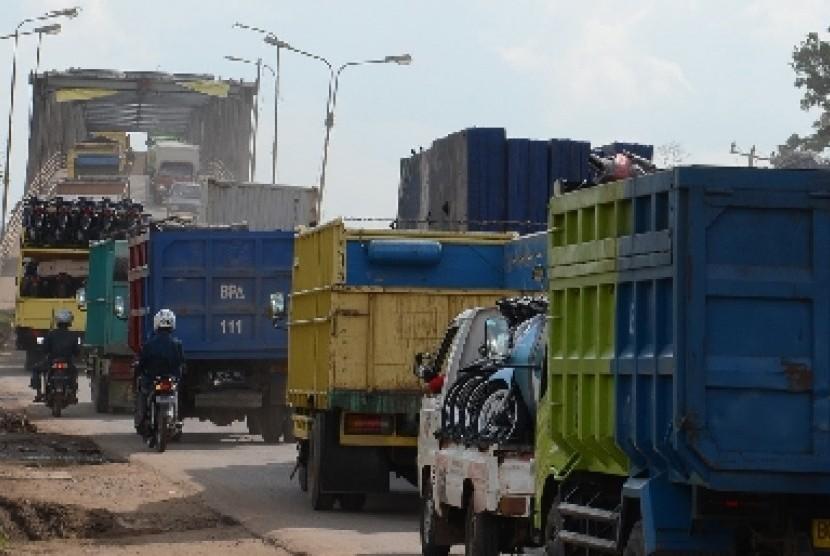 Jalan Lintas Lampung Palembang