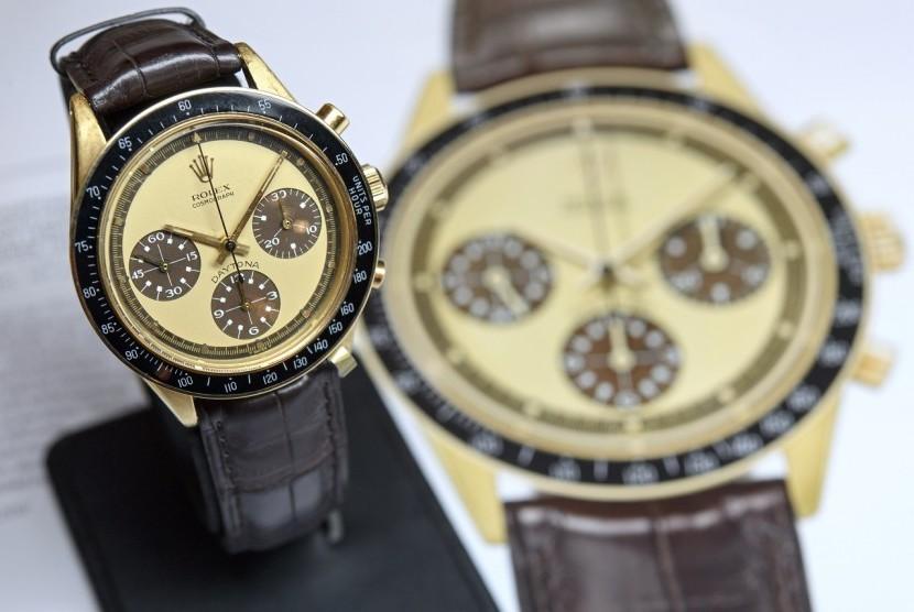 Jam Tangan Mendiang Paul Newman Terjual Rp 242 Miliar