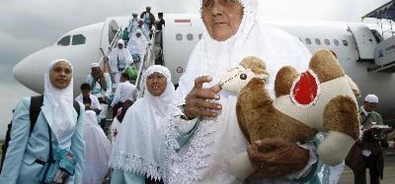 Jamaah haji asal Indonesia.
