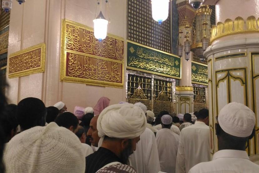 Jamaah Padati Masjid Nabawi Saat 1 Muharram