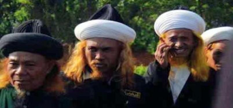 Jamaah Tarekat Naqsabandiyah di Sumatera Barat.