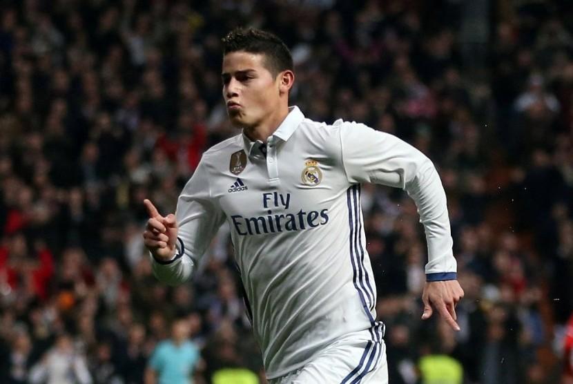 Petinggi Inter dan Madrid Bicarakan Nasib James Rodriguez