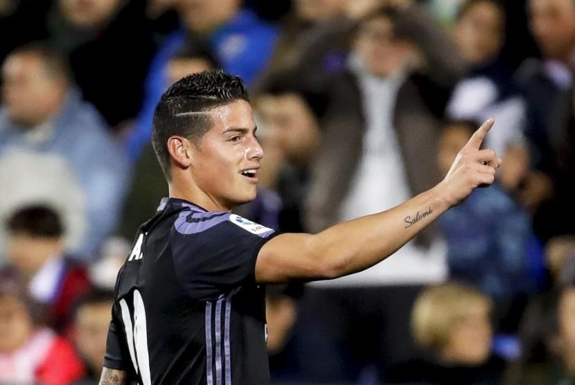 James Rodriguez: Berat Tinggalkan Real Madrid