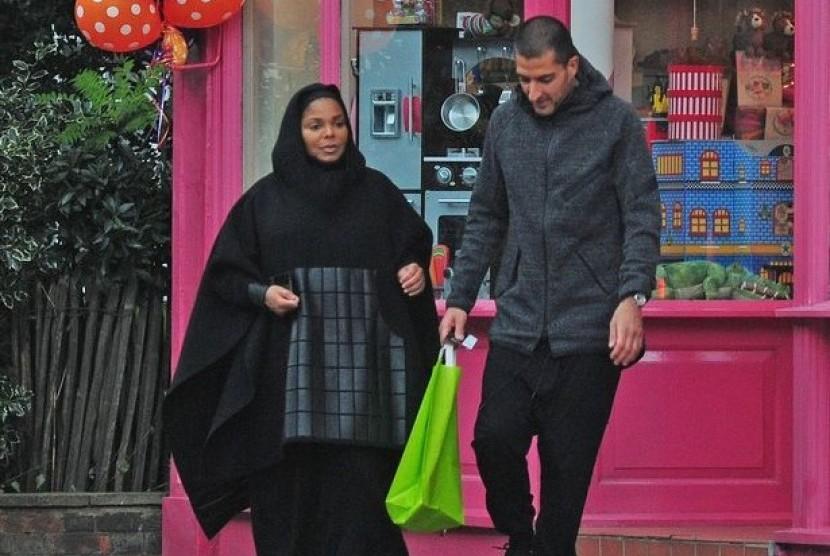 Janet Jackson dan suaminya Wissam Al Manna.