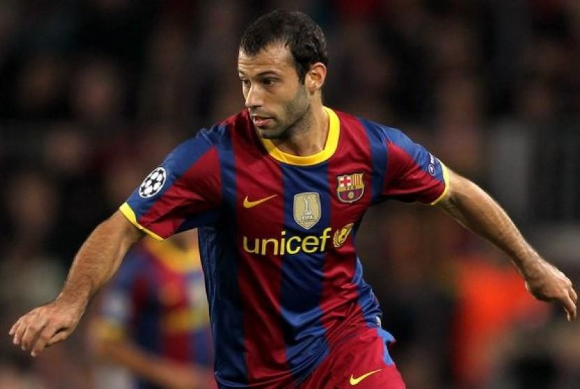 Pekan Depan, Mascherano Tinggalkan Barcelona