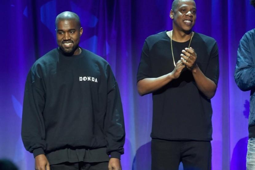 Jay-Z Mengaku tidak Akur dengan Kanye West