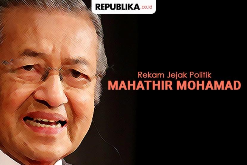 Jejak politik Mahathir Mohamad